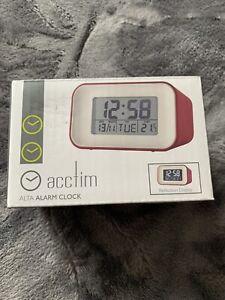Acctim Alta Alarm Clock Spice -FREE POSTAGE!!