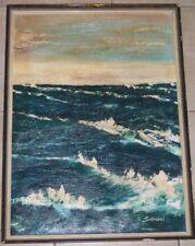 Künstlerische Malereien von 1900-1949 im Expressionismus-Seefahrt & Schiffe