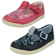 Infant Girls Clarks First T-Bar Shoes 'Crazy Tale'