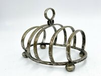 Antique Art Deco EPNS Silver Plated Toast Rack Holder - Breakfast Kitchen <A16