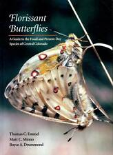 WESTERN AMERICANA CENTRAL COLORADO FLORISSANT BUTTERFLIES GUIDE TO FOSSIL'S
