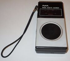 IMA Micro Cassette Recorder Model 105 VINTAGE Craig Tested Works Microcassette