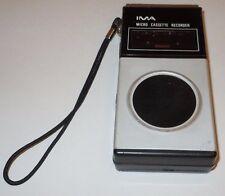 IMA Micro Cassette Recorder Model 105 VINTAGE Craig Tested Works Microcassette