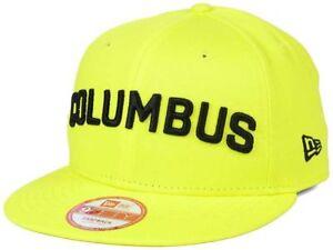 Columbus Crew New Era 9Fifty Undefeated Soccer MLS Snapback Cap Hat