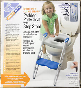 MOMMY'S HELPER Contoured Cushie Step Up Padded Potty Seat with Step Stool 11148