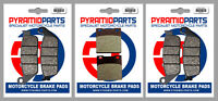 Front & Rear Brake Pads for Suzuki GSF600 Bandit 95-99 GSX400 94-96 RF400