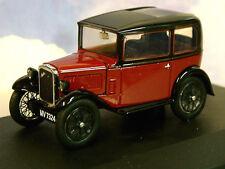 Austin Seven RN Saloon 1931 Dark Red / Black 1 43 Model Oxford
