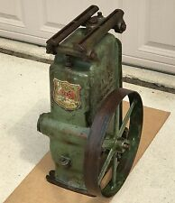 "FE Myers Well Water Pump Jack Part Self Oiling 6""Stroke Belt Drive motor Antique"