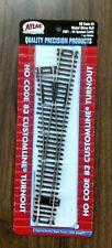 ATLAS CODE 83 HO GAUGE RIGHT-HAND #4 TURNOUT