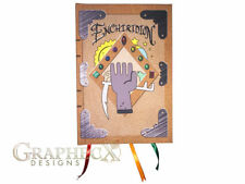 Adventure Time Enchiridion Crossover inspired hardcover cosplay book journal