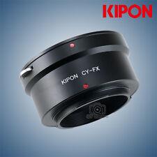 Kipon Adapter for Contax Yashica mount Lens to Fuji X-Pro2 X-T2 Fujifilm Camera