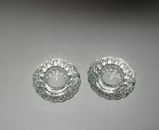 Simon Design 2 LACIE Clear Crystal Votives SD123V NIB