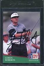 1991 Pro Set Golf Loren Roberts #149 Signed Autograph