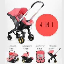 Baby Stroller 3 in 1 Bassinet High Landscape Folding Carriage Pram Car Seat