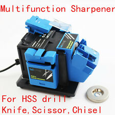 Multifunction Electric Knife Sharpener for Drill Knife Scissor Grinding Tool