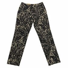 Etro Women's Embroidered Paisley Trousers | Vintage High End Luxury Designer VTG