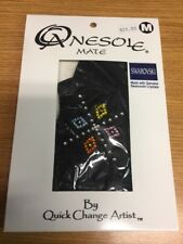 Onesole Mate Black Toppers with Swarovski Crystals - Size M  NIB