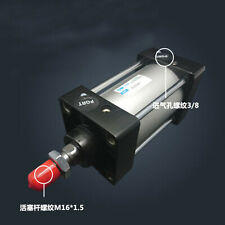 SC80-100 Bore: 80mm Stroke: 100mm Single Thread Rod Dual Action Air Cylinder