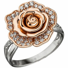 Ringe mit Edelsteinen im Cluster-Stil aus Sterlingsilber für Geburtstage