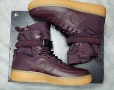reputable site 9a4da c0308 New Nike Special Field Air Force 1 Men Size 9 Deep Burgundy Gum Shoe 864024  600