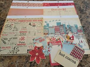 October Afternoon 8x8 Holiday Style Paper & Die Cuts