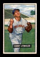 1951 Bowman #179 Danny Litwhiler  EXMT X1531274