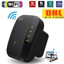 Wireless Mini WLAN Verstaerker 300Mbit/s WLAN Repeater Verstärker LAN Port/ WPS