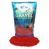 Pettex Roman Gravel Aquatic Roman Gravel, 2 Kg, Rosso Red