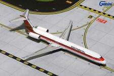 GEMINI JETS CONTINENTAL AIRLINES MCDONNELL DOUGLAS MD-80 1:400 DIECAST GJCOA1166