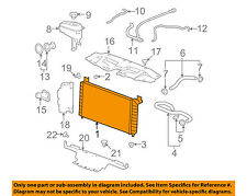 GM OEM-Radiator 22840115