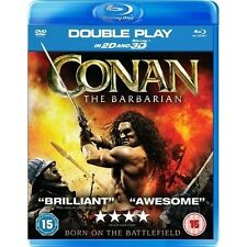 CONAN THE BARBARIAN 3D****BLU-RAY****REGION B****NEW & SEALED
