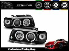 FARI ANTERIORI HEADLIGHTS LPVW09 VW POLO 6N 1994-1997 1998 1999 HB ANGEL EYES