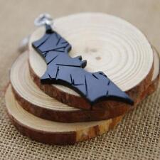 Magic Fashion Batman Bat Metal Ring Keychain Pendant Key Chain Black Good#CA