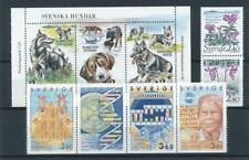 [316644] Sweden good lot of stamps very fine MNH