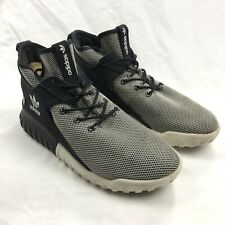 Adidas Originals Tubular X Mens 9.5 White Gray Basketball Sneakers Shoes