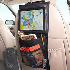 Kids Car Seat Back Hanging Storage Phone Tablet Holder Organizer Bag For iPad