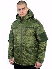 Russian camouflage military vkbo Winter Jacket Camo Digital flora new Ratnik
