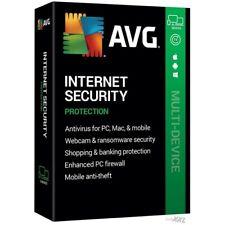 AVG Internet Security 1 PC 2020 Antivirus 1 Year 2020