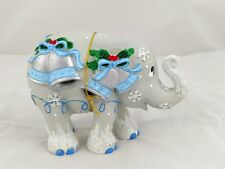 Rare Westland Elephant Parade Silver Bells Animal Figurine #24620 Christmas New