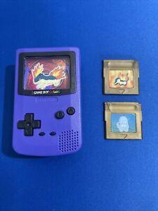 Purple Grape Nintendo Mini Game Boy Color 2000 Burger King Quilava Pokemon Toy