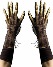 Morris Costumes Grim Reaper Skeleton Accessory Latex Gloves One Size. 1008GBS