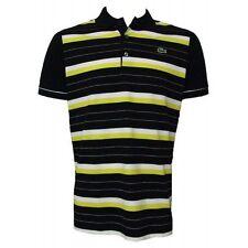 Lacoste Cotton Striped T-Shirts for Men