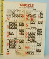 1967 California Angels Home Baseball Schedule & Ticket Information