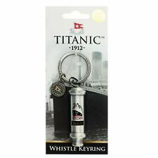 Titanic Vintage Whistle Collectors Metal Keyring (sg)