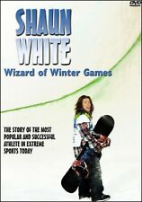 SHAUN WHITE Story Extreme Sports Snowboarder Wizard of the Winter Games DVD