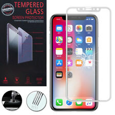 "Cristal protector para Apple iPhone x 5.8"" real de pantalla BLANCO"