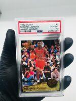 1992-93 MICHAEL JORDAN Fleer Ultra Award Winner PSA 10 Gem Mint #1