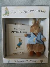 Beatrix Potter My Peter Rabbit Book And Toy Boxed Set Plush Stuffed Animal NEW