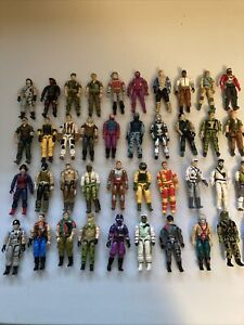 Vintage GI Joe Lot -- 43 figures and over 70 accessories