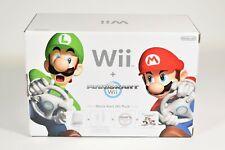 Nintendo Wii, Mario Kart Wii Pack, Wii + Mario Kart, pal, nuevo